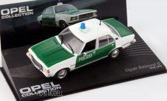 Altaya Opel Rekord D Polizei  1972-1977 Opel Collection