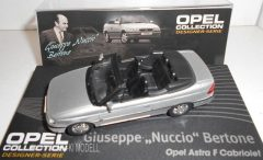 """Altaya Opel Astra F Cabriolet - Giuseppe """"Nuccio"""" Bertone (1992-1998) Opel Collection"""