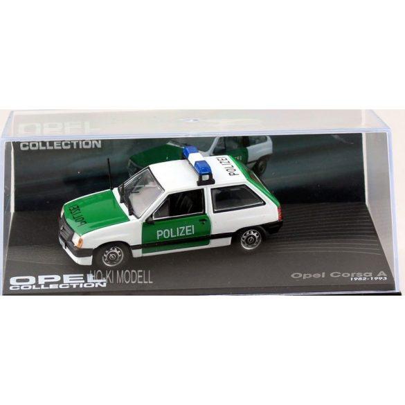 """Altaya Opel Corsa A """"Polizei"""" (1982-1993) Opel Collection"""