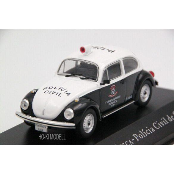 """Altaya Volkswagen Fusca """"Policia Civil de Sao Paulo"""""""