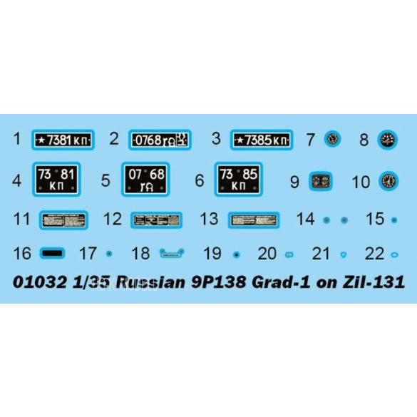 Trumpeter 01032 Zil-131 / 9P138 Grad-1