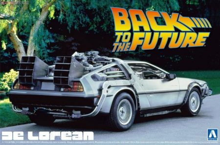 Aoshima 011850  De Lorean Back To The Future