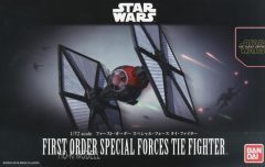 Bandai 0203219 1/72 First Order Special Forces Tie Fighter