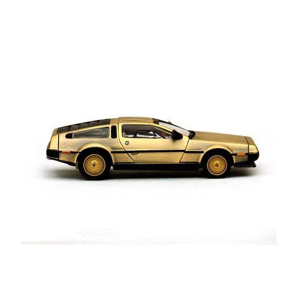 Vitesse 24001 De Lorean DMC 13 Coupe Stainless Steel