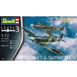 Revell 03710  Combat Set Messerschmitt Bf109G-10 & Spitfire Mk.v
