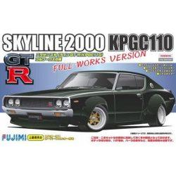 Fujimi 038032 KPGC110 Skyline GT-R Full Works