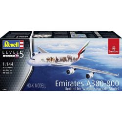 "Revell 03882 Airbus A380 Emirates ""Wild-Life"""