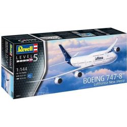"Revell 03891  Boeing 747-8 Lufthansa ""New Livery"""
