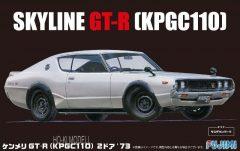 Fujimi  039268 Nissan Skyline Gt-r Kpgc110 2 Door 1973