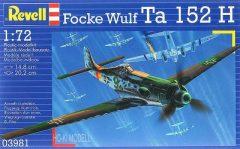 Revell 03981  Focke Wulf Ta 152 H