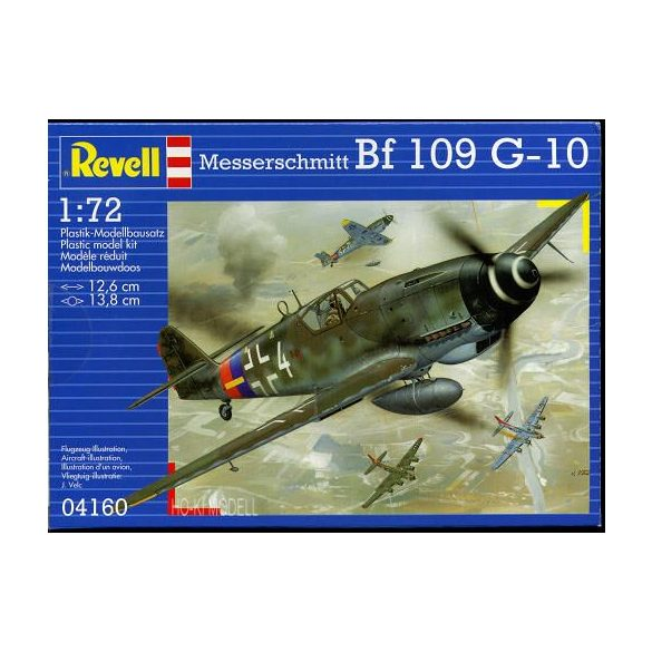 Revell 04160  Messerschmitt BF 109 G-10