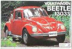 Aoshima 047781  Volkswagen Beetle 1303S