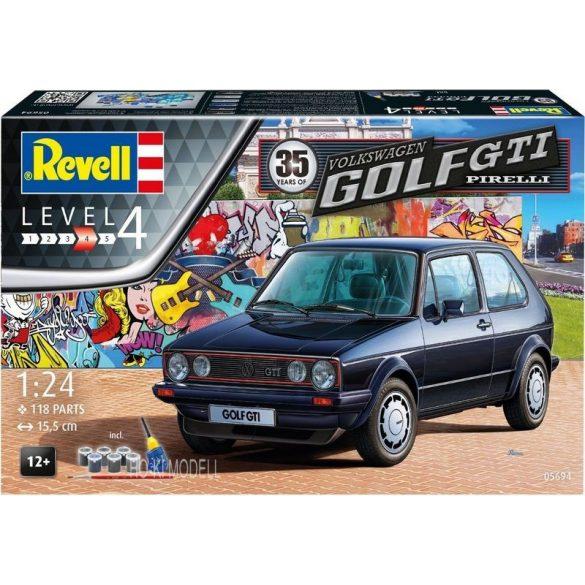 Revell 05694 Volkswagen Golf I GTI Pirelli Set - 1983