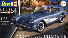 Revell 07037  Corvette Roadster 1958