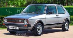 Revell 1976 VW Golf I GTI