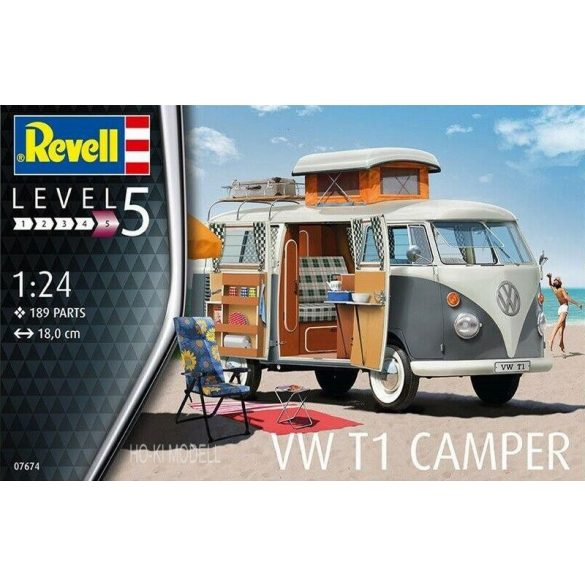 Revell 07674 Volkswagen T1 Camper