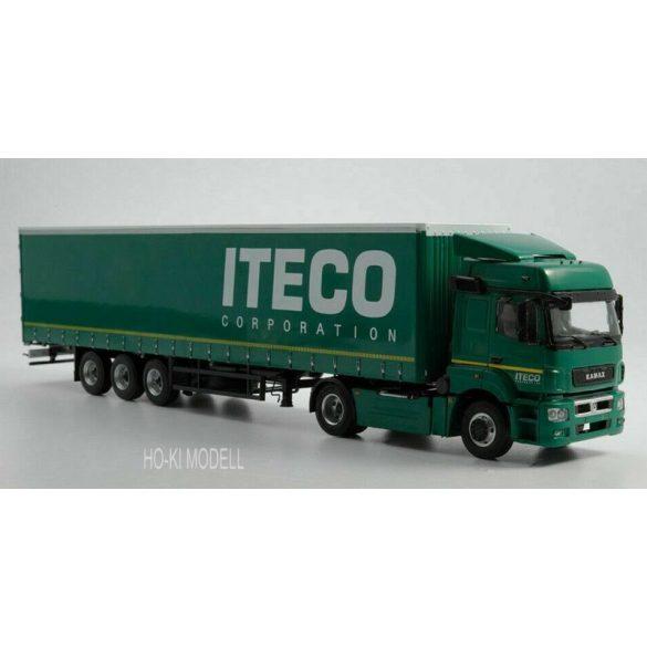 """AIST 102798 KAMAZ-5490 Nyergesvontató NEFAZ-93341 Félpótkocsival - """"Iteco"""""""