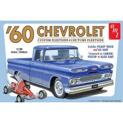 Amt 1063 1960 Chevy Custom Fleetside Pickup w/Go Kart