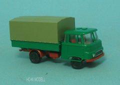 Modelltec Robur LO 2501 Platós Ponyvás Teherautó