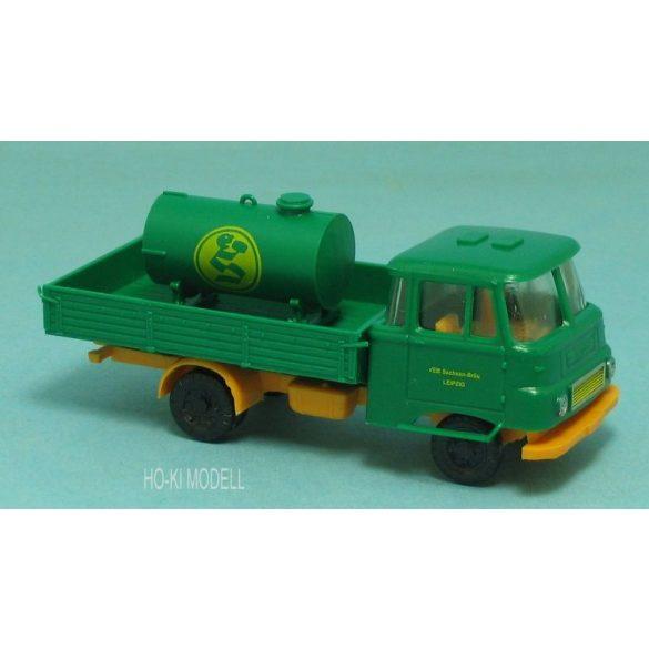 Modelltec Robur Lo 2501 Pritsche mit Tank Sachsen Bräu