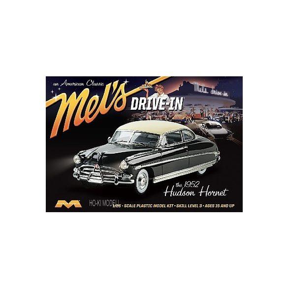 Moebius 1216 1952 Hudson Hornet Mel's Drive-In