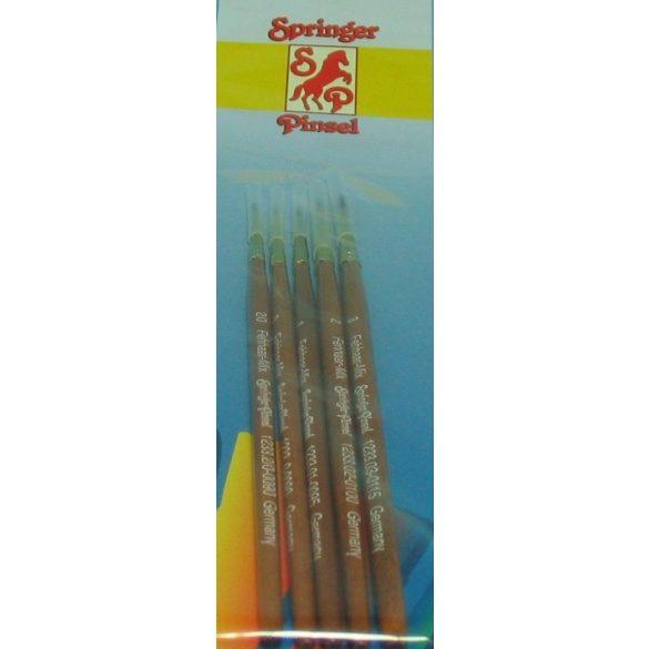 Springer Pinsel 5 darabos ecset készlet