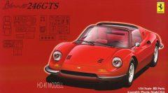 Fujimi 126449 Ferrari Dino 246GTS Spider