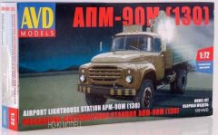 AVD ZIL 130 APM-90M Platós Teherautó Reflektorral