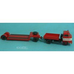 Modelltec 14105550 IFA  W-50L / ZM Rövid platós teherautó TL12 alacsony rakodóval