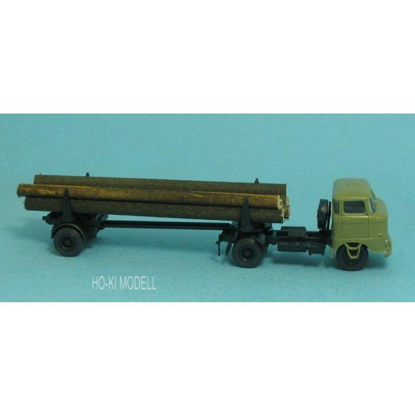 Modelltec IFA W-50 Nyerges Farönkszállító teherautó