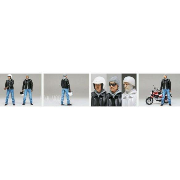 Tamiya 14137 Street Rider - Utcai Motoros Figura
