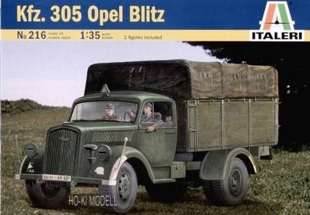 Italeri 216  Kfz. 305 Opel Blitz