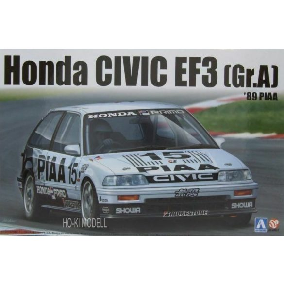 Aoshima - Beemax Honda Civic EF3 (Gr.A) 1989 PIAA