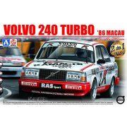 Aoshima - Beemax 24012 Volvo 240 Turbo Macau GP Guia winner 1986