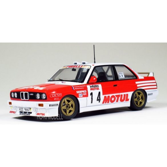 Aoshima - Beemax 24016 BMW M3 (E30) Tour de Corse 189 Rally Version