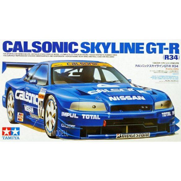 Tamiya 24219 Calsonic Skyline GT-R (R34)