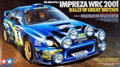 Tamiya 24250  Subaru Impreza WRC 2001 - Rally of Great Britain