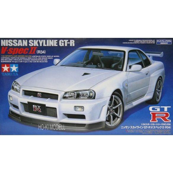 Tamiya 24258 Nissan Skyline GTR R34 V SPEC II