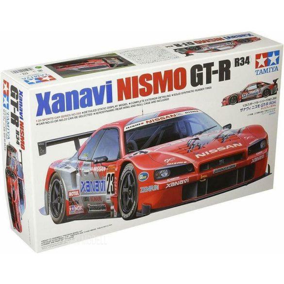 Tamiya 24268 Nissan Xanavi NISMO GT-R R34