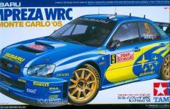 Tamiya 24281 Subaru Impreza WRC Monte Carlo 2005