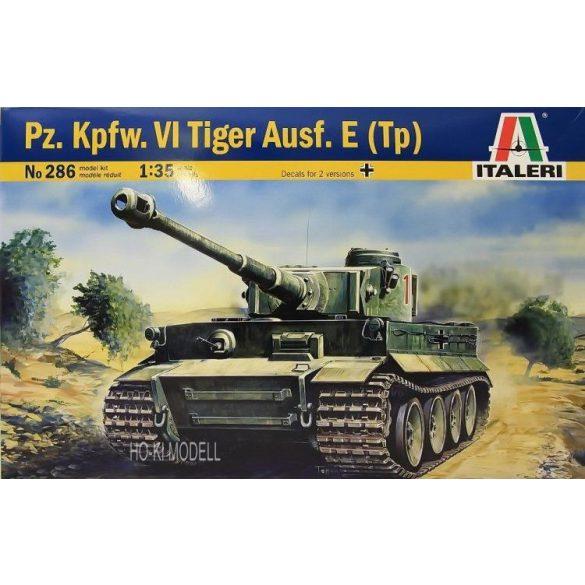 Italeri 286  Pz.Kpfw.Tiger I Ausf E (Tp)