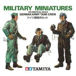 Tamiya 35001 WWII German Army Tank Crew