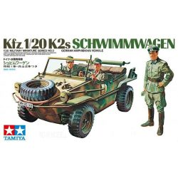 Tamiya 35003 Kfz.1/20K2s Schwimmwagen German Amphibious Vehicle