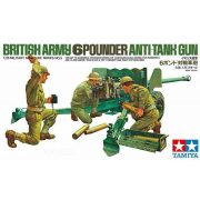 Tamiya 35005 WWII British Army 6 Pounder Anti Tank Gun