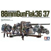 Tamiya 35017  German 88mm Gun FlaK 36/37