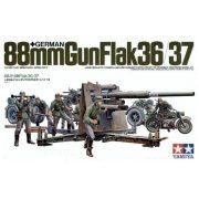 Tamiya 35017  German 88mm Gun FlaK 36/37