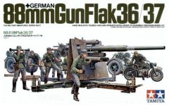 Tamiya German 88mm Gun FlaK 36/37
