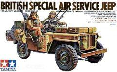Tamiya British Special Air Service Jeep