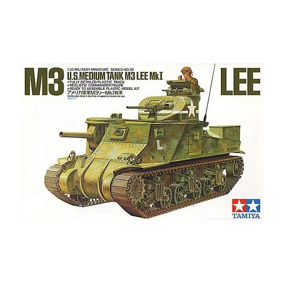 Tamiya 35039  M3 Lee U.S. Medium Tank