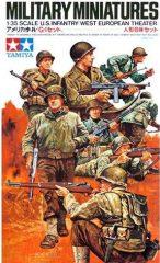 Tamiya 35048  US Infantry West European Theater